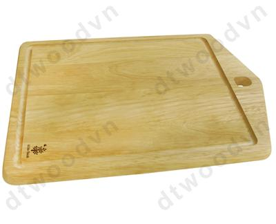 House cutting board with hole