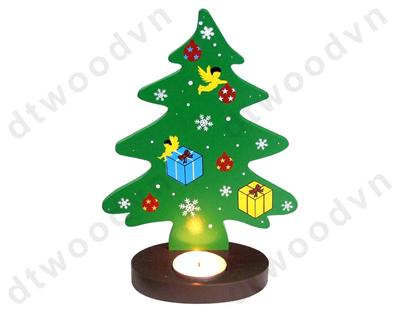 Xmas' tree - candle holder