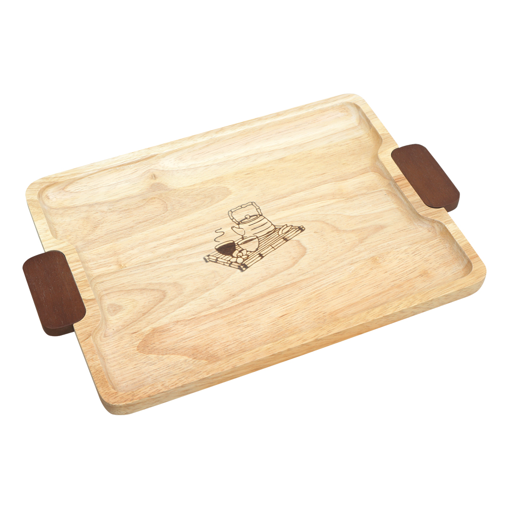 Rect. tray with color handle