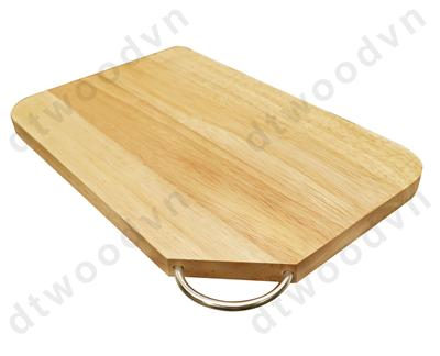 Cutting board with ring