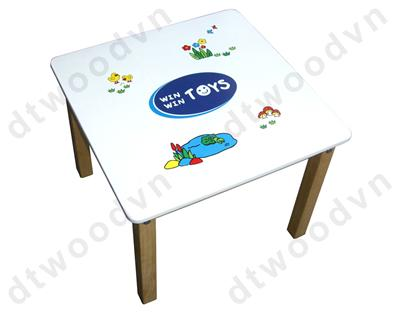 Square children table, KD