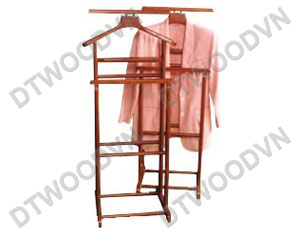 Vest hanger, K/D,  - Natural color  - Brown color