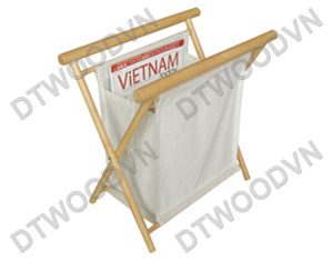 Cloth rack with round  bars