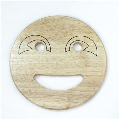 Smiley face trivet