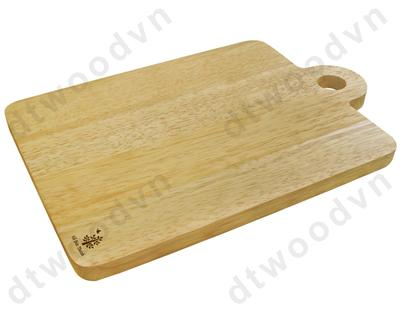 Cutting board with round handle and hole