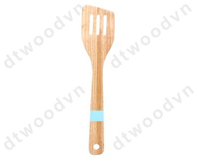 3-slotted spatula with color handle