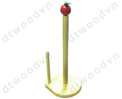 Paper towel holder with red top, K/D