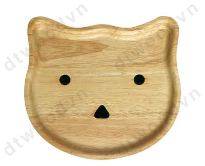 Cat shaped tray
