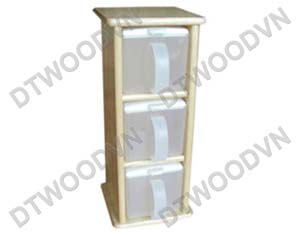 Spice holder, 3 tiers,  with 3 plastic boxes
