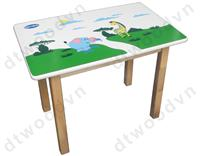 Rect. Table for children, KD