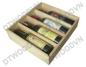 Wine box, 4 bottles
