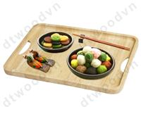 Rectangle tray with handle