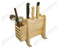 Knife rack with multi function